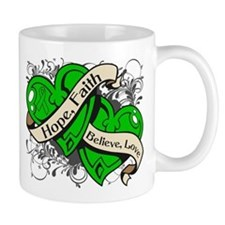 Kidney Disease Hope Dual Heart Mug