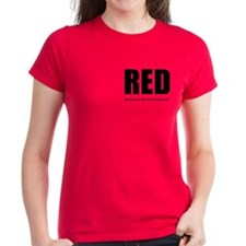 RED Women's 2-sided T-Shirt