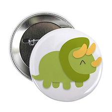 Kawaii cartoon of green and yellow Triceratops 2.2