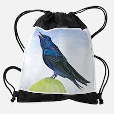no text martin Drawstring Bag