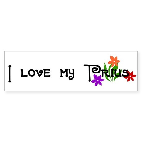 Prius Bumper Sticker