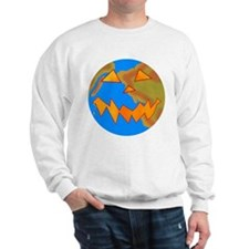 Jack o Lantern Earth Sweatshirt