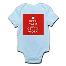 Keep Calm and Get to Work Body Suit