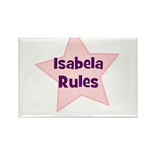 Isabela Rules Rectangle Magnet