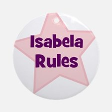 Isabela Rules Ornament (Round)