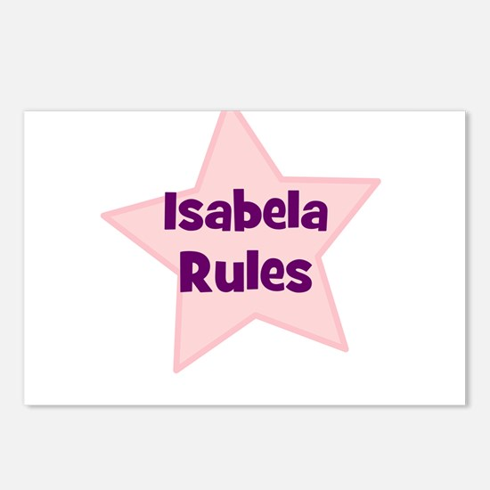 Isabela Rules Postcards (Package of 8)