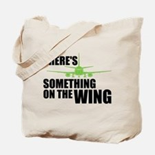 Something on the Wing Tote Bag