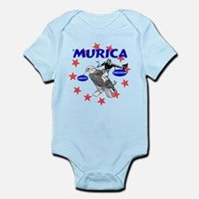 Murica Eagle and Cowboy Body Suit