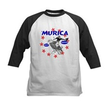 Murica Eagle and Cowboy Baseball Jersey