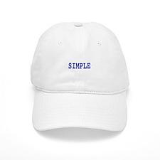 Simple, t shirt Baseball Baseball Cap