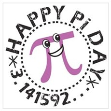 Happy Pi Day Poster And Wall Art Poster