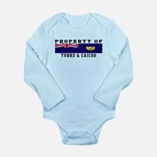 Property Of Turks & Caicos Long Sleeve Infant Body