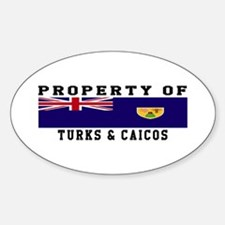 Property Of Turks & Caicos Decal