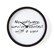 No Software... Wall Clock