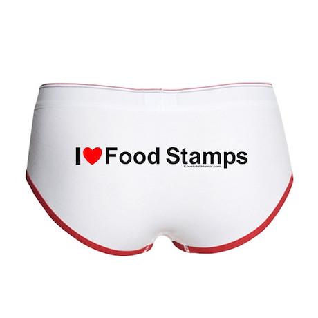 Food Stamps Women's Boy Brief