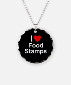 Food Stamps Necklace