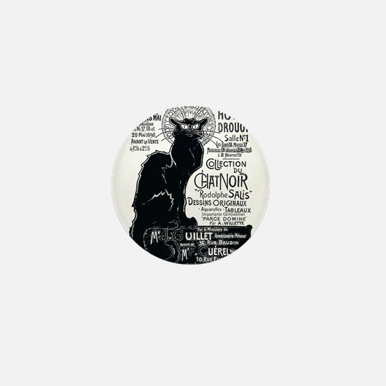 Chat Noir Cat Mini Button