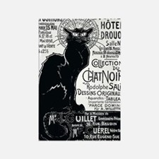 Chat Noir Cat Rectangle Magnet