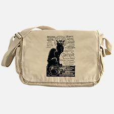 Chat Noir Cat Messenger Bag