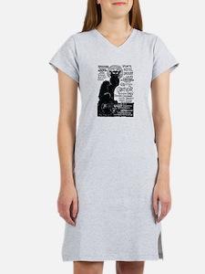Chat Noir Cat Women's Nightshirt