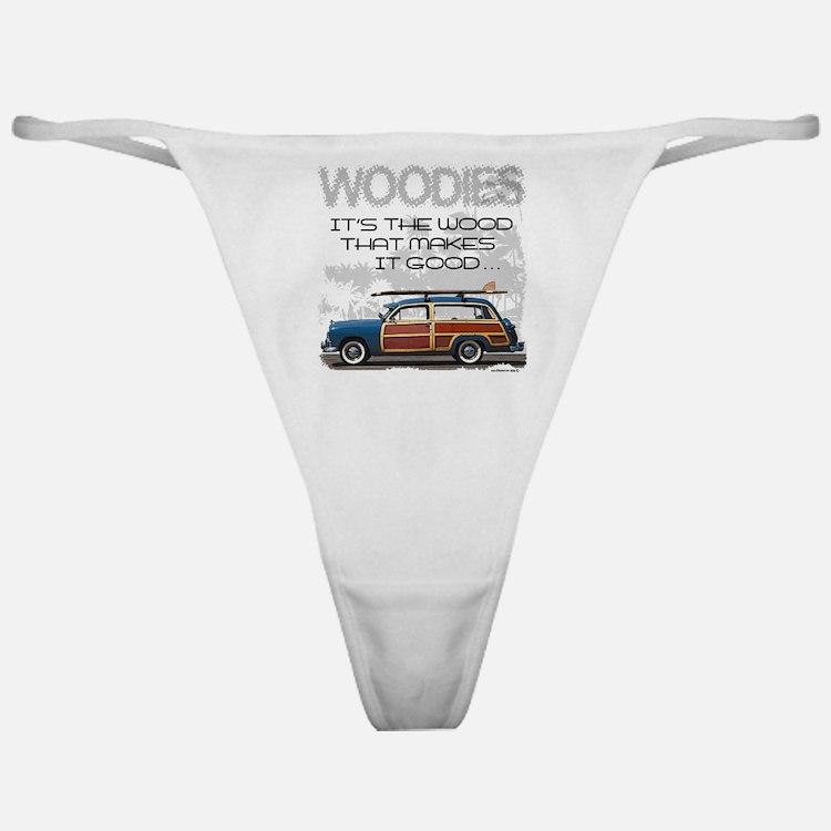 Woodies Classic Thong