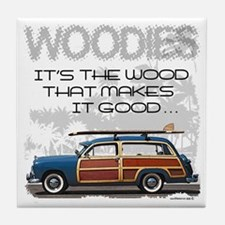 Woodies Tile Coaster