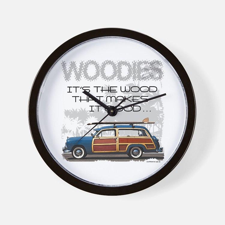 Woodies Wall Clock