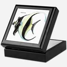 Moorish Idol Fish Keepsake Box