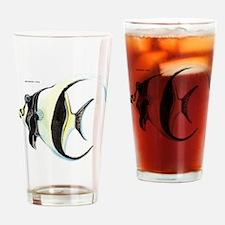 Moorish Idol Fish Drinking Glass