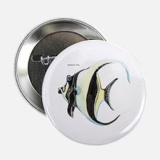 """Moorish Idol Fish 2.25"""" Button"""