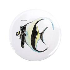 """Moorish Idol Fish 3.5"""" Button"""