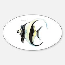 Moorish Idol Fish Decal