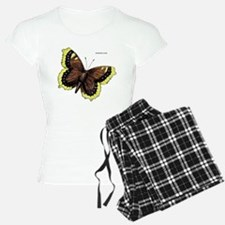Mourning Cloak Butterfly Pajamas