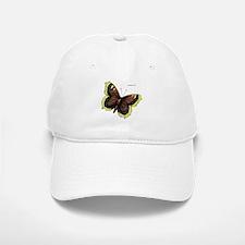 Mourning Cloak Butterfly Baseball Baseball Cap