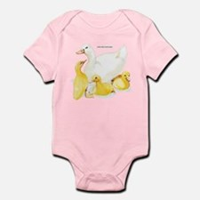 Duck and Ducklings Infant Bodysuit