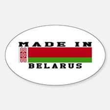 Belarus Made In Decal