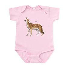 Coyote Wild Animal Infant Bodysuit