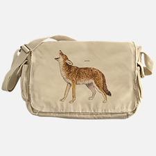 Coyote Wild Animal Messenger Bag