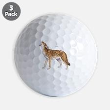 Coyote Wild Animal Golf Ball