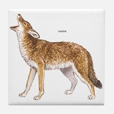 Coyote Wild Animal Tile Coaster