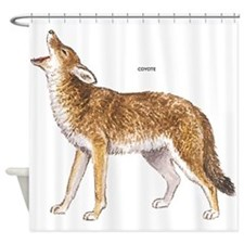 Coyote Wild Animal Shower Curtain