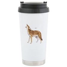 Coyote Wild Animal Travel Mug