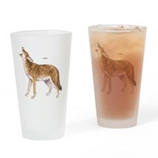 Coyote Wild Animal Drinking Glass