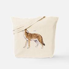 Coyote Wild Animal Tote Bag