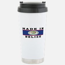 Belize Made In Stainless Steel Travel Mug