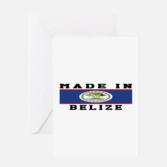 Belize Made In Greeting Card