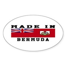 Bermuda Made In Decal