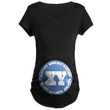 XY Baby Boy Chromosome Pregnancy Maternity T-Shirt