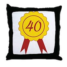 40 Throw Pillow