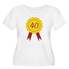 40 Plus Size T-Shirt